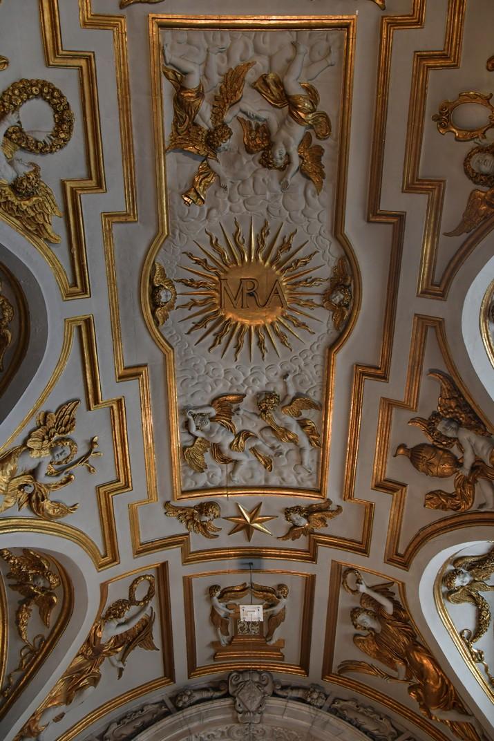 Volta de la capella de la Verge de l'església de Sant Carles Borromeo d'Anvers