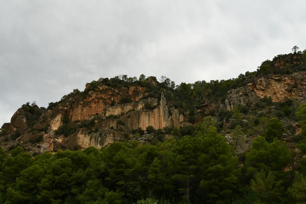 Entre muntanyes entre Miravet i Benifallet de l'Ebre
