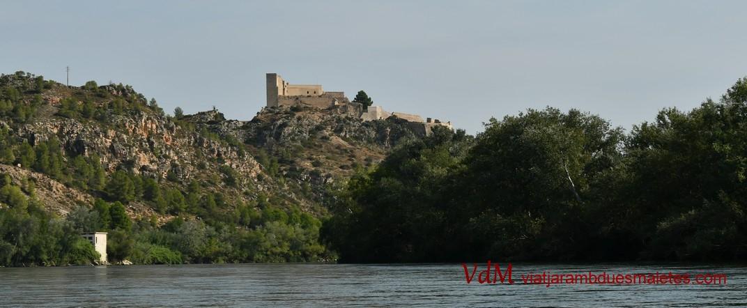 Talaia del Castell de Miravet de la Ribera d'Ebre