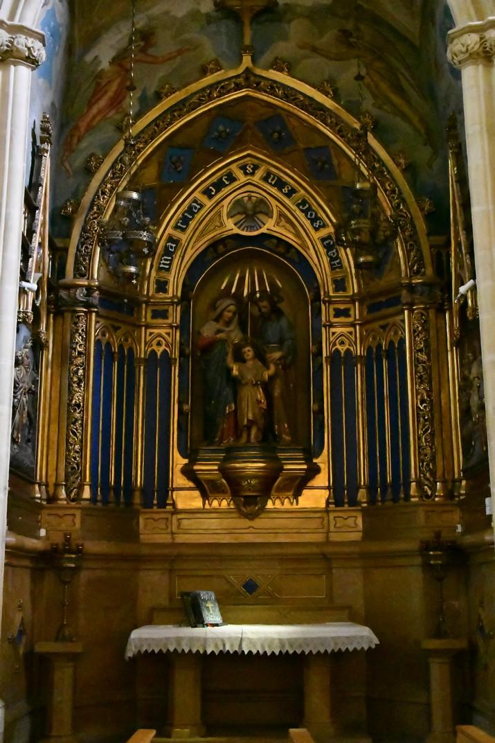 Altar de la Sagrada Família de l'església Prioral de Sant Pere de Reus