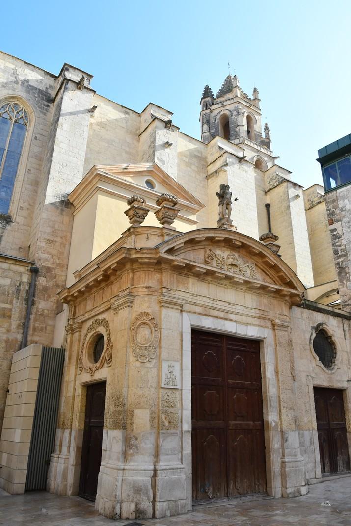 Atri de Sant Sebastià de l'església Prioral de Sant Pere de Reus