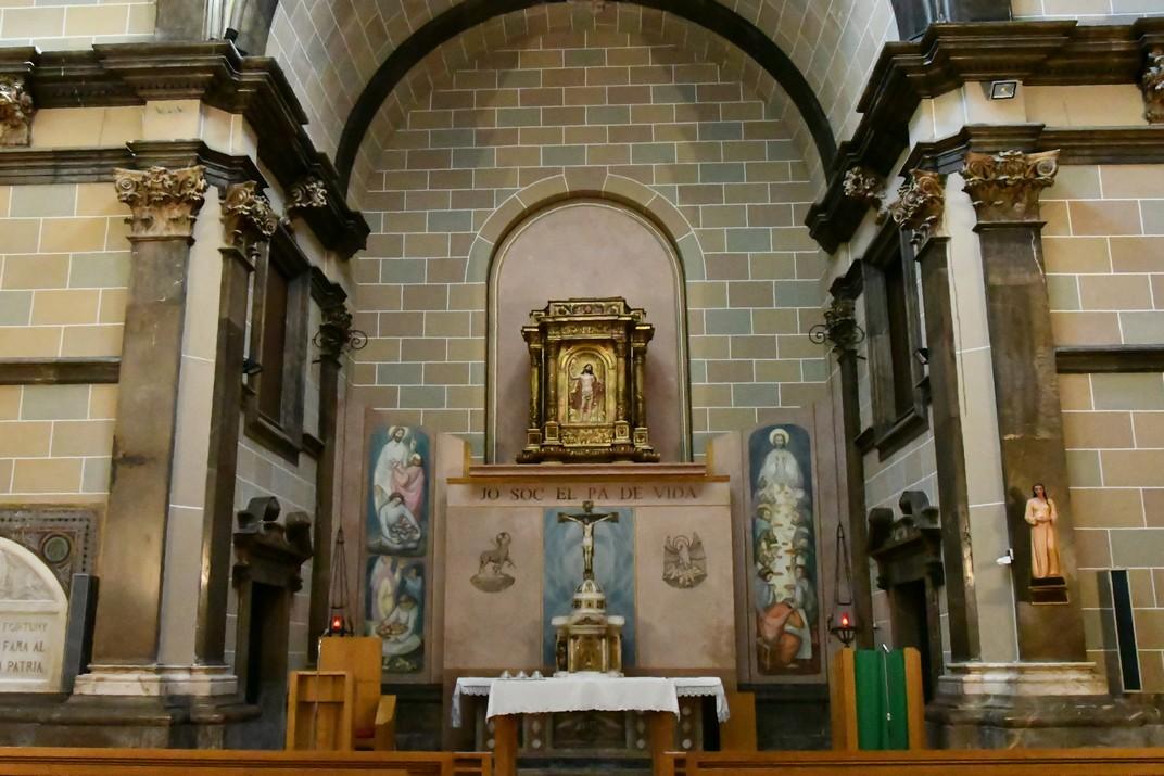 Capella de Santíssim Sagrament de l'església Prioral de Sant Pere de Reus