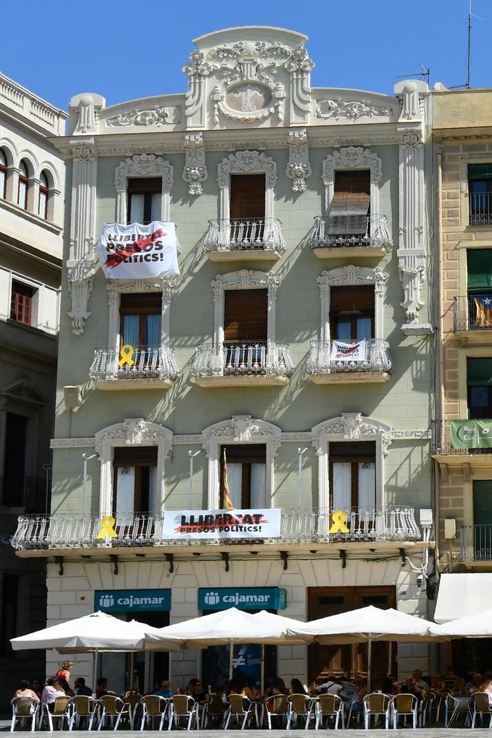 Casa Pinyol de la plaça del Mercadal de Reus