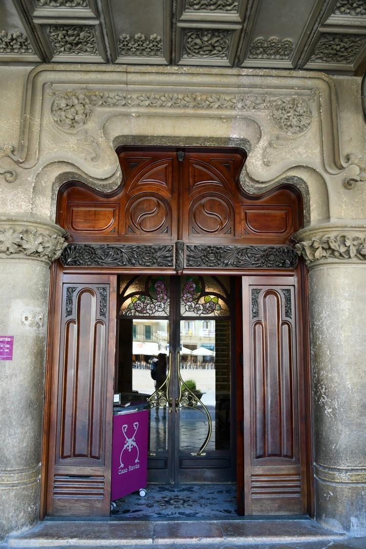 Entrada Casa Navàs de Reus