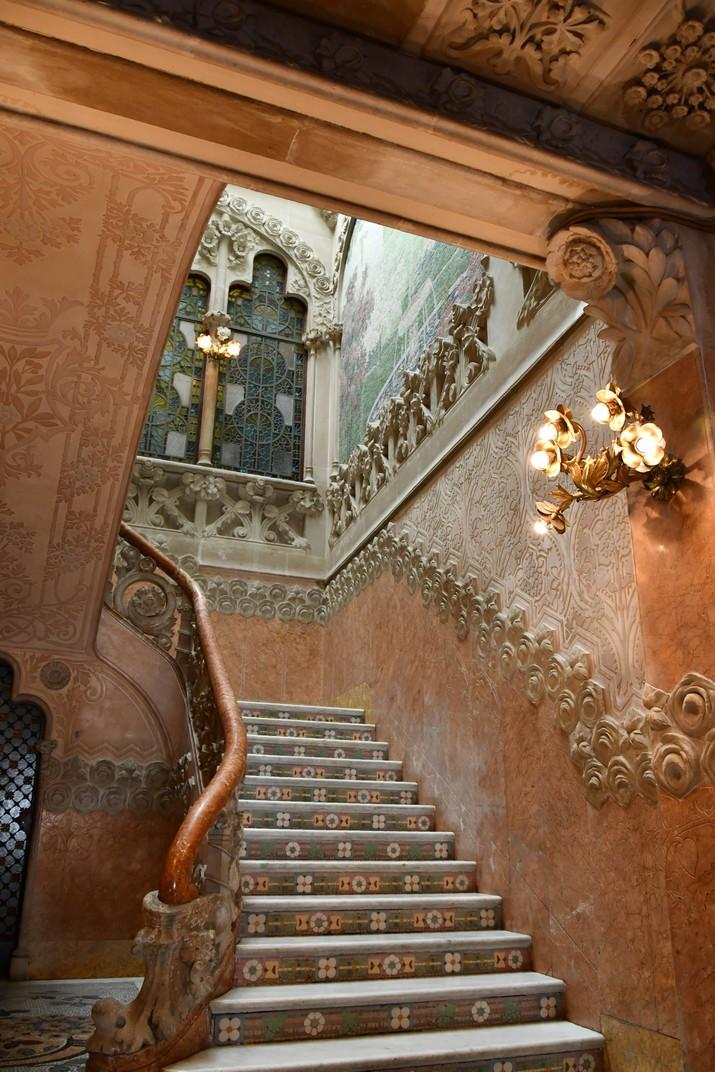 Escala principal de la Casa Navàs de Reus
