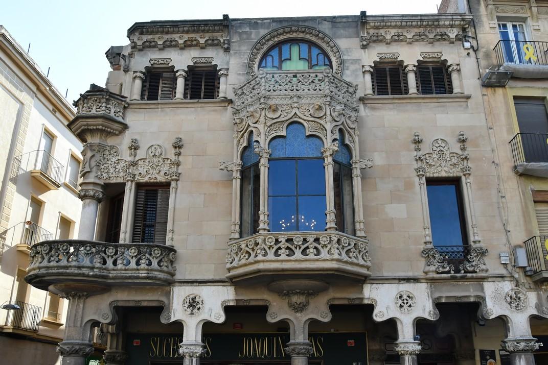 Façana principal de la Casa Navàs de Reus