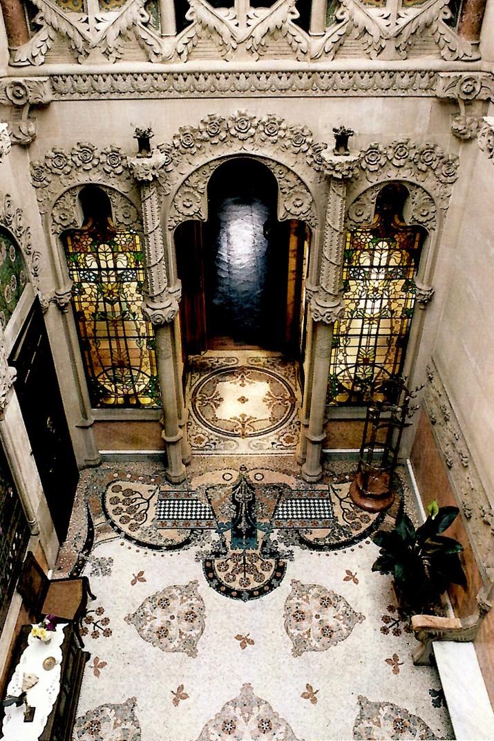 Interior de la Casa Navàs de Reus