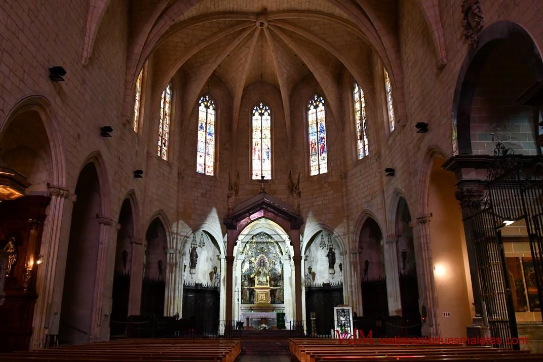 Nau única de l'església Prioral de Sant Pere de Reus