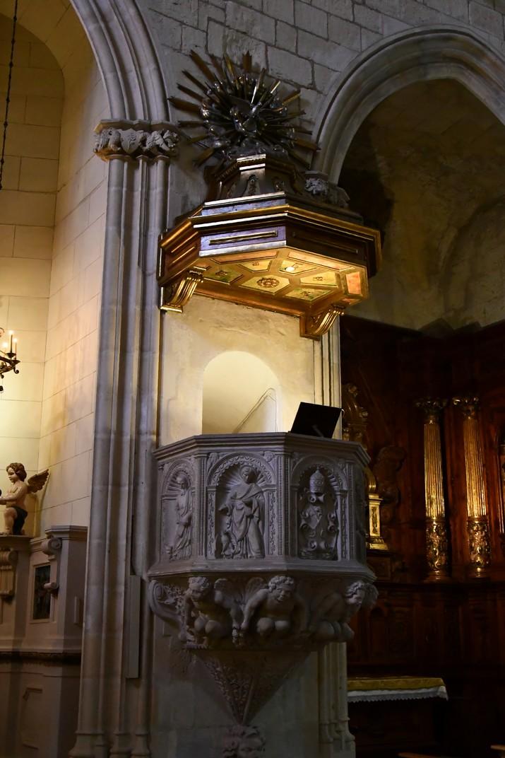 Púlpit de l'església Prioral de Sant Pere de Reus