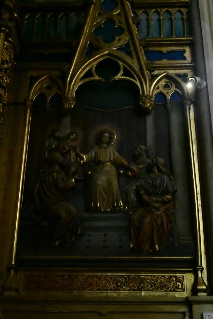 Retaule de Jesús al Temple de l'església Prioral de Sant Pere de Reus