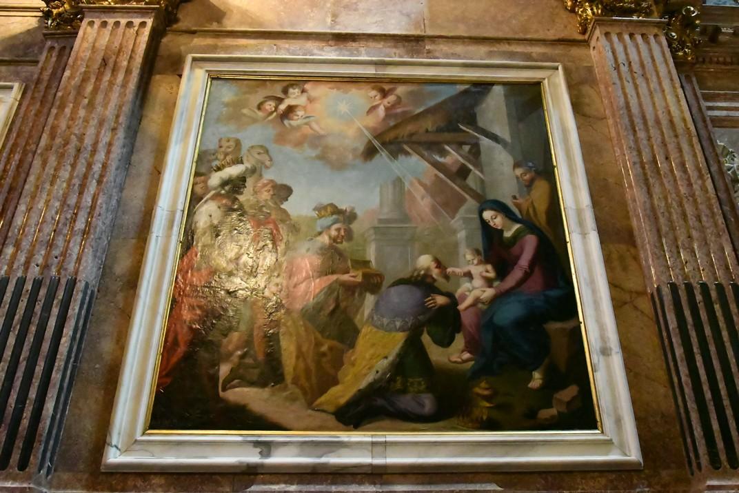 Adoració dels Reis d'Orient de la capella de la Mare de Déu de la Cinta de la Catedral de Santa Maria de Tortosa