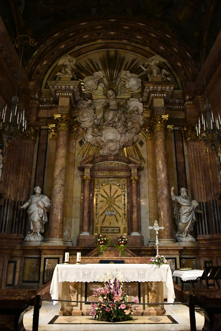 Altar de la capella de la Mare de Déu de la Cinta de la Catedral de Santa Maria de Tortosa