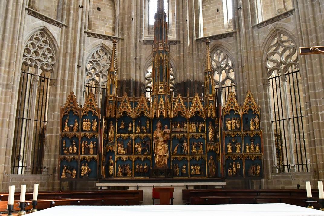 Altar major de la Catedral de Santa Maria de Tortosa