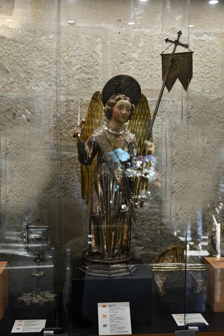 Àngel Custodi de l'exposició permanent de la Catedral de Santa Maria de Tortosa