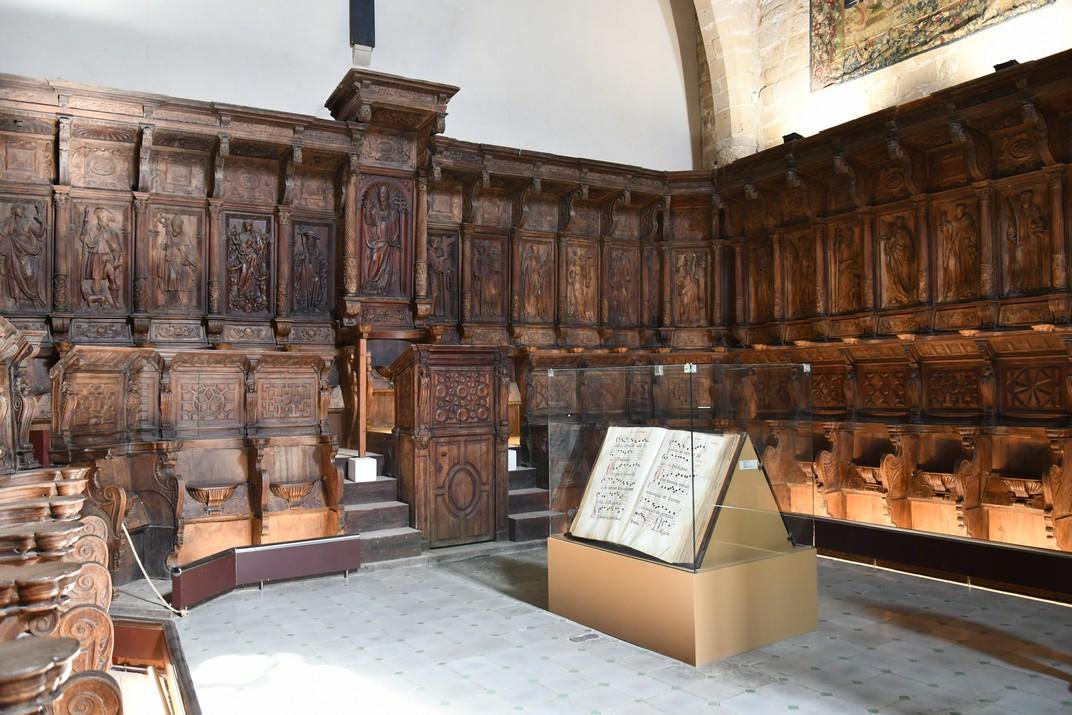 Cadirat del cor dels canònics de la Catedral de Santa Maria de Tortosa