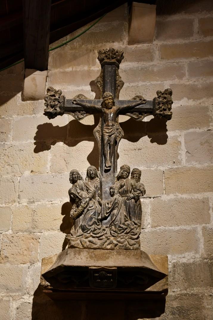 Creu del Calvari de l'exposició permanent de la Catedral de Santa Maria de Tortosa