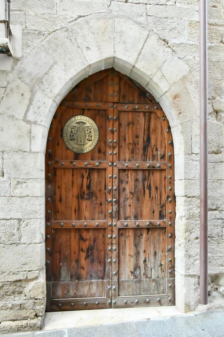 Entrada Arxiu Capitular de la Catedral de Tortosa