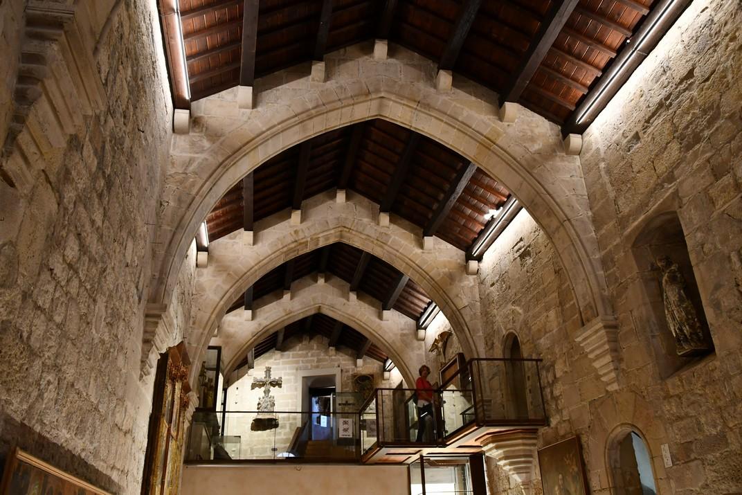 Espai museístic de l'exposició permanent de la Catedral de Tortosa