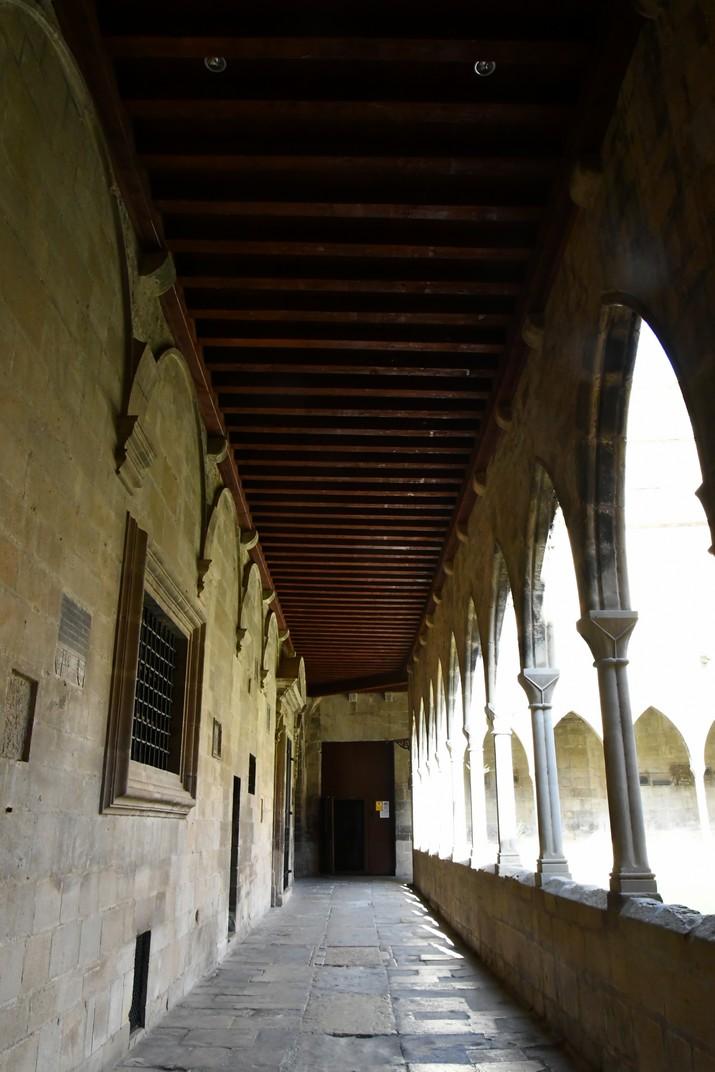 Galeria del claustre de la Catedral de Santa Maria de Tortosa