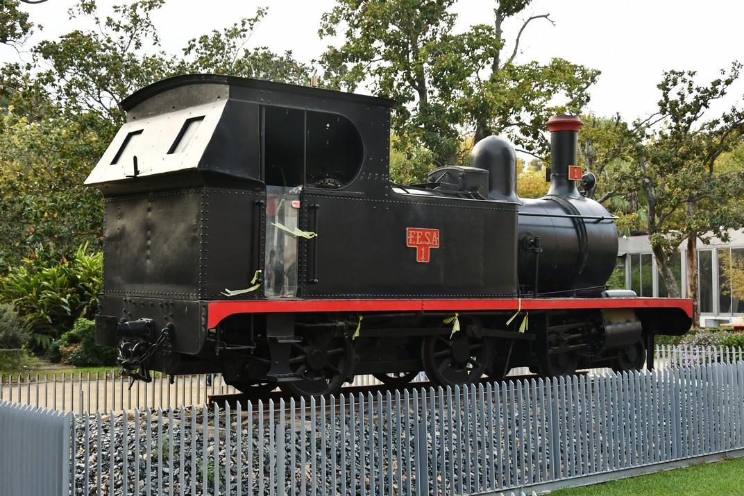 Locomotora del carrilet de la Cava de Tortosa