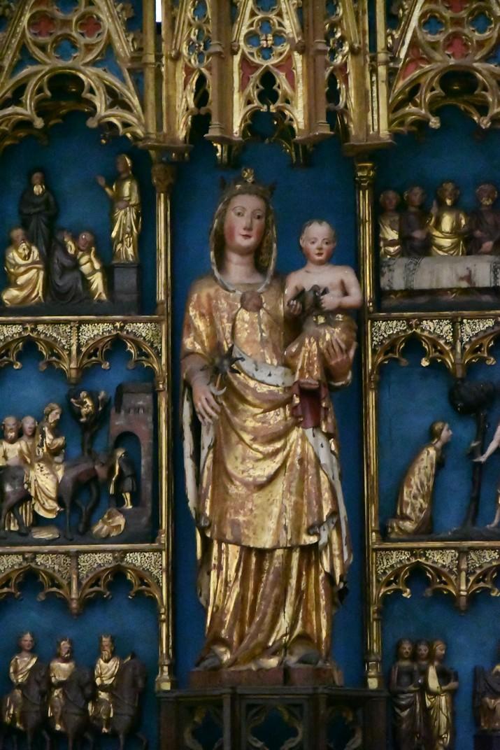 Mare de Déu de l'Estrella del retaule de la Catedral de Santa Maria de Tortosa