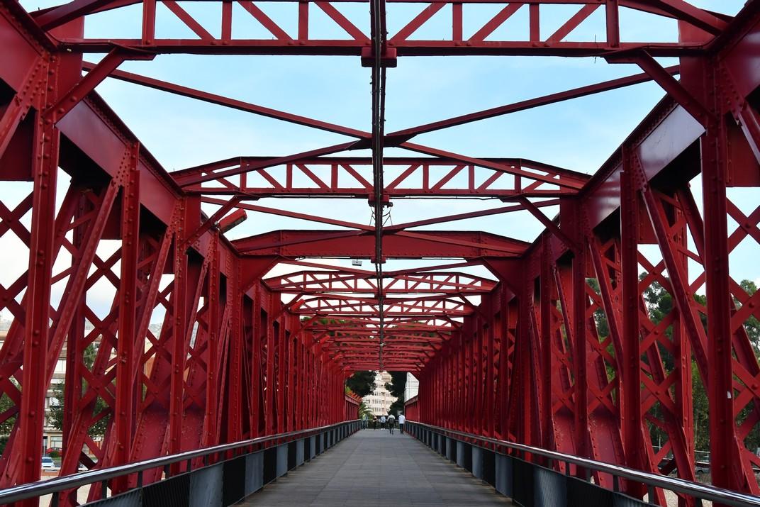 Pas de vianants del pont del Ferrocarril de Tortosa