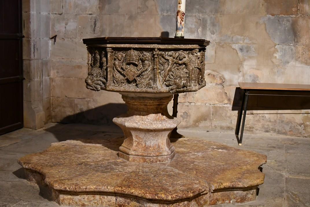 Pica baptismal de la Catedral de Santa Maria de Tortosa