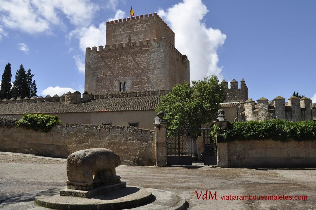 Plaça del Castell de Ciudad Rodrigo de Salamanca