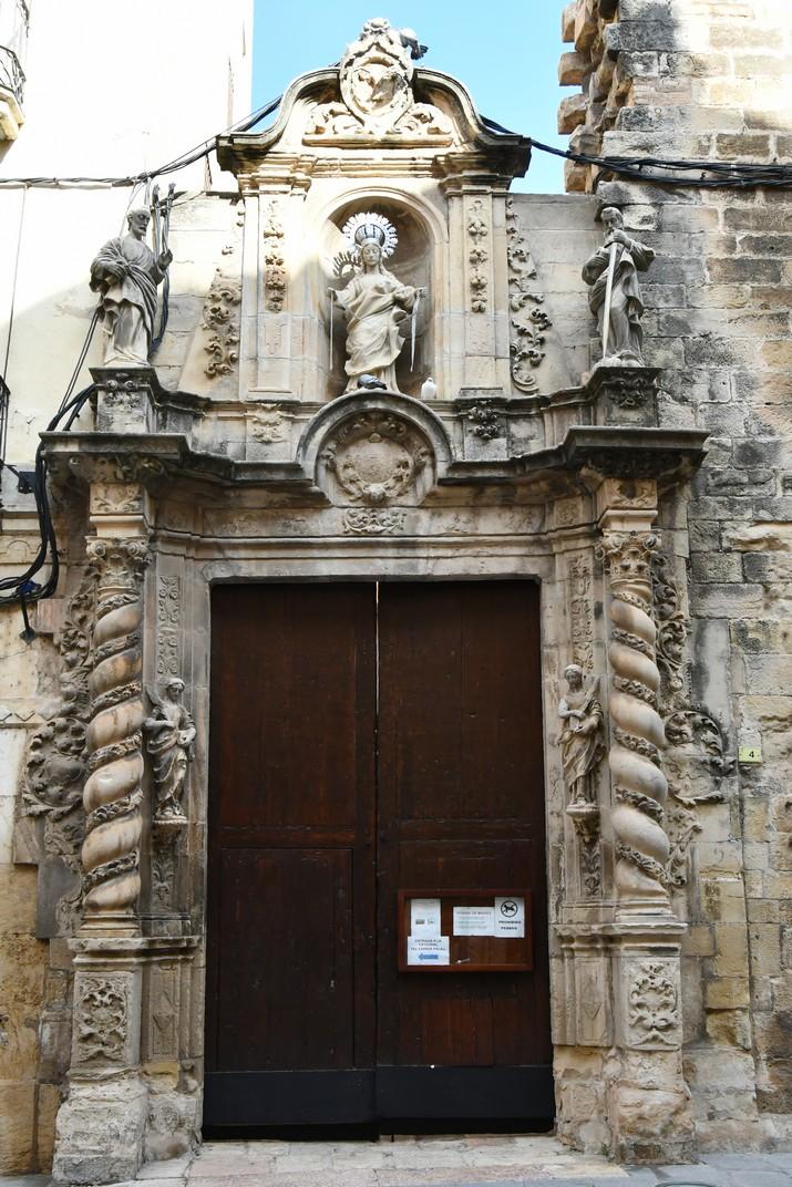 Porta de l'Olivera de la Catedral de Tortosa