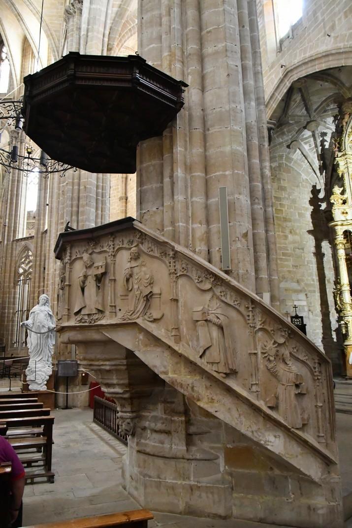 Púlpit de l'Epístola de la Catedral de Santa Maria de Tortosa