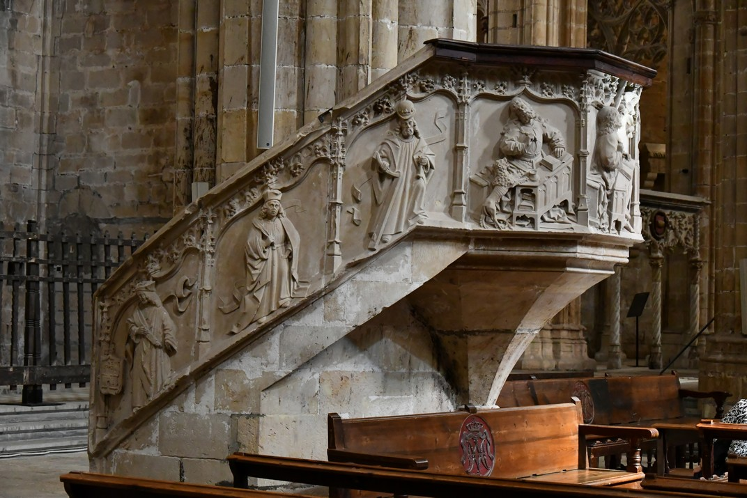 Púlpit de l'Evangeli de la Catedral de Santa Maria de Tortosa