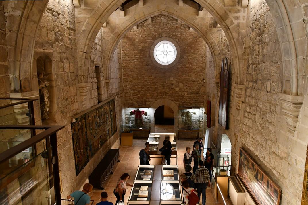 Refectori - exposició permanent de la Catedral de Santa Maria de Tortosa