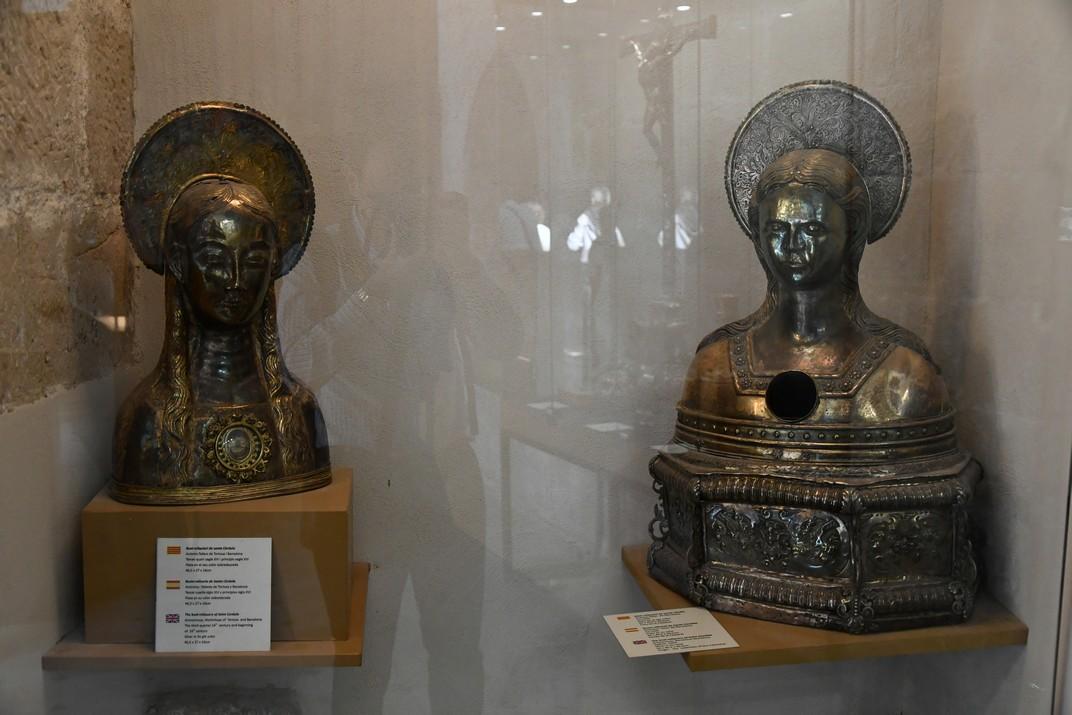 Santa Còrdula de l'exposició permanent de la Catedral de Santa Maria de Tortosa