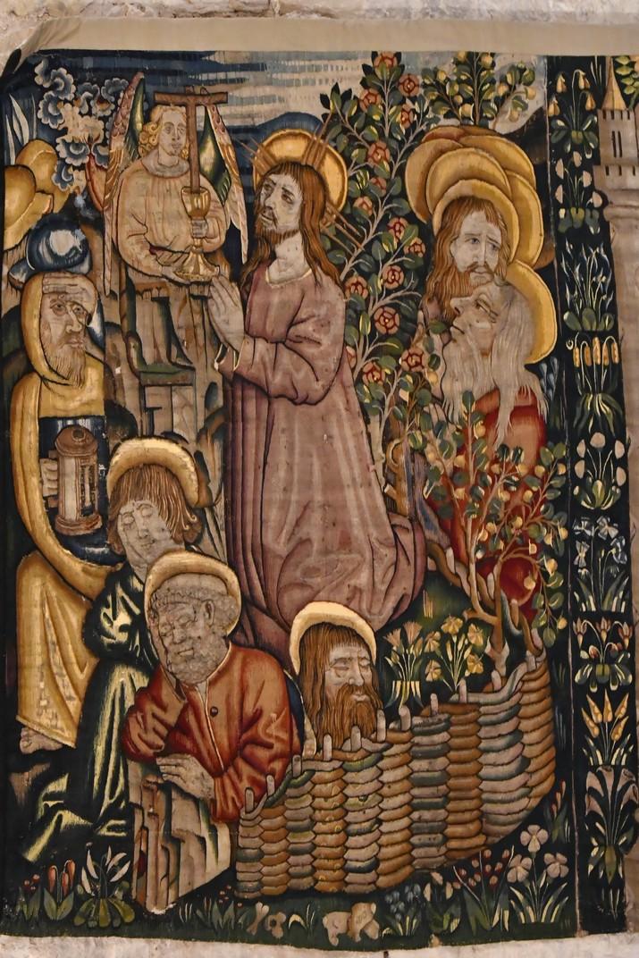 Tapís del Sant Sopar de l'exposició permanent de la Catedral de Santa Maria de Tortosa