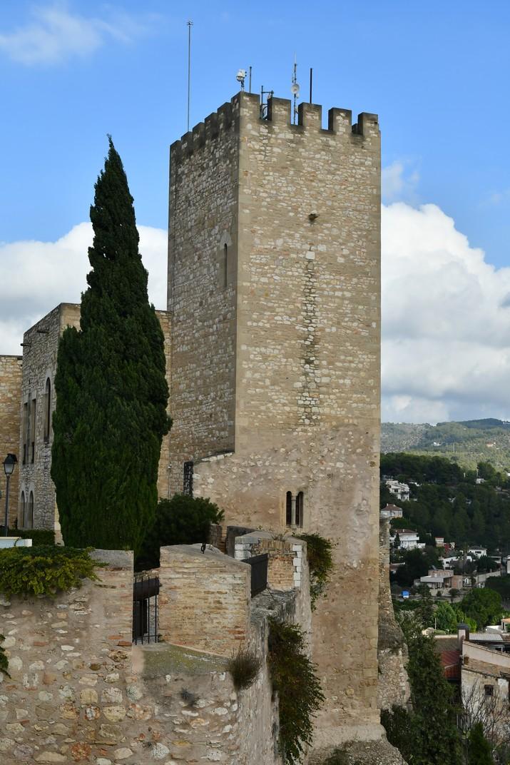 Torre mestra del castell de la Suda de Tortosa