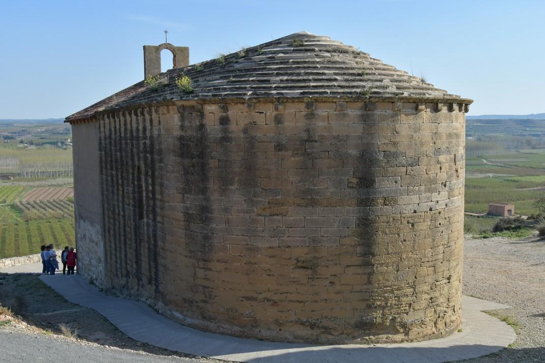 Absis del santuari de Sant Joan de Carratalà d'Aitona