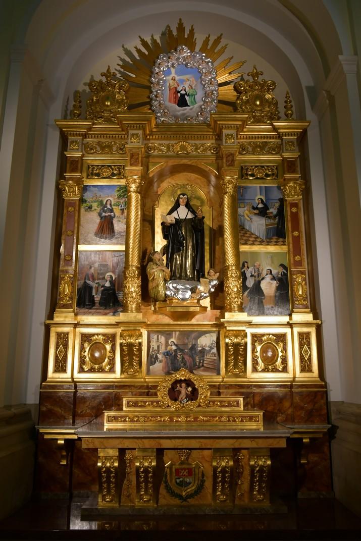 Capella de Santa Teresa Jornet de l'església de Sant Antolí Màrtir d'Aitona