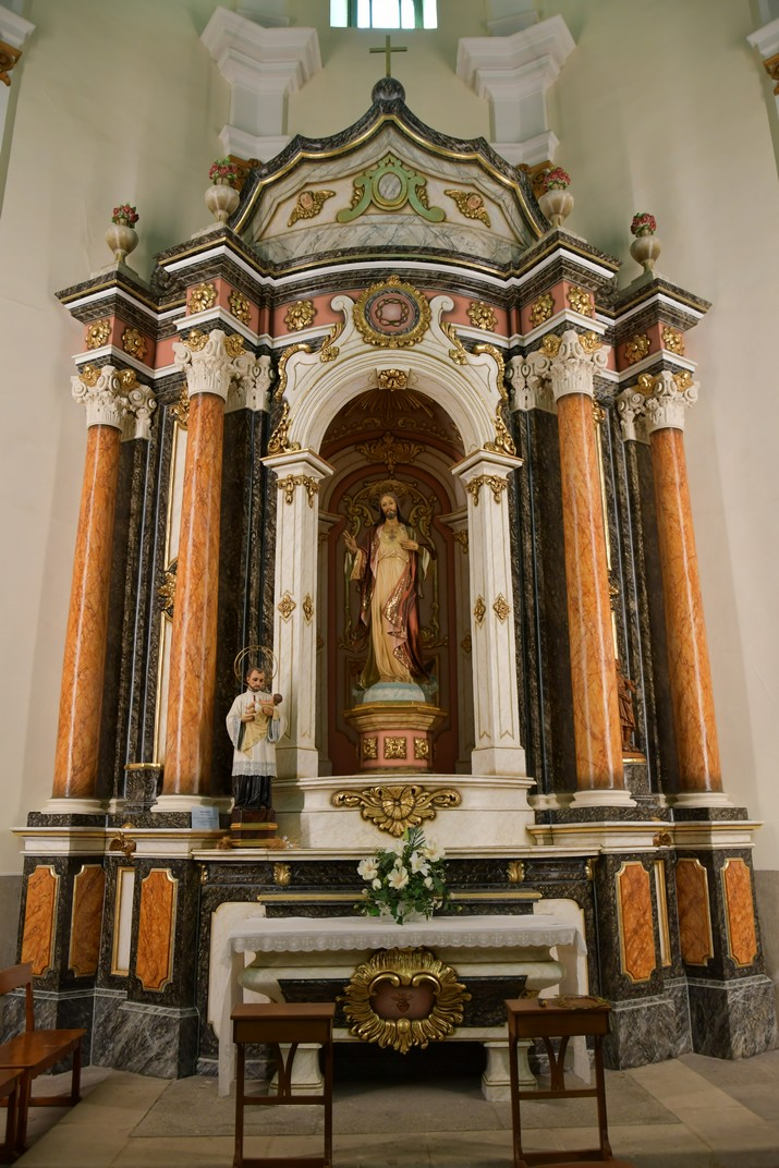 Capella del Sagrat Cor de l'església de Sant Antolí Màrtir d'Aitona