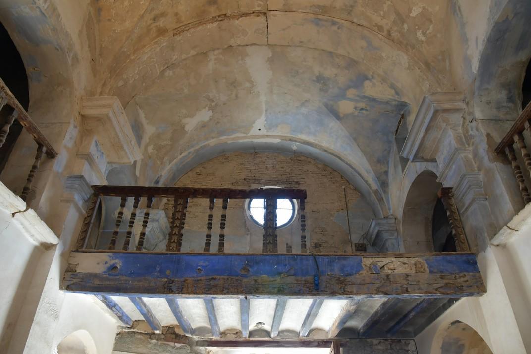Contra-façana de la capella de Sant Gaietà d'Aitona