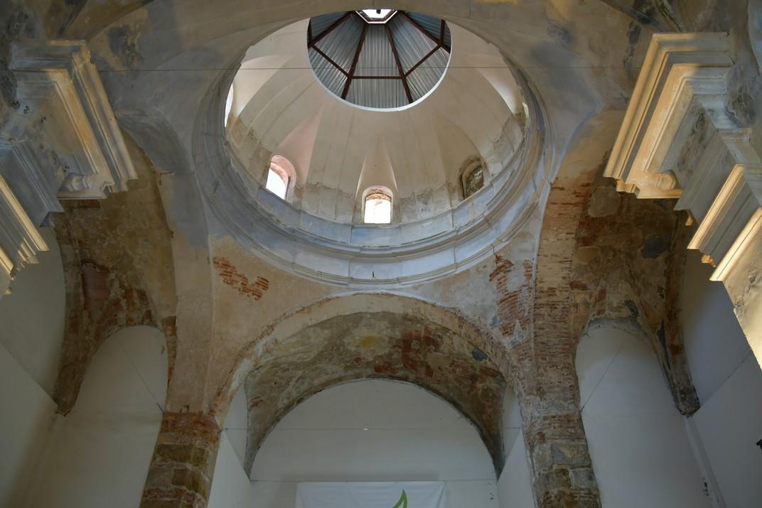 Cúpula de la capella de Sant Gaietà d'Aitona
