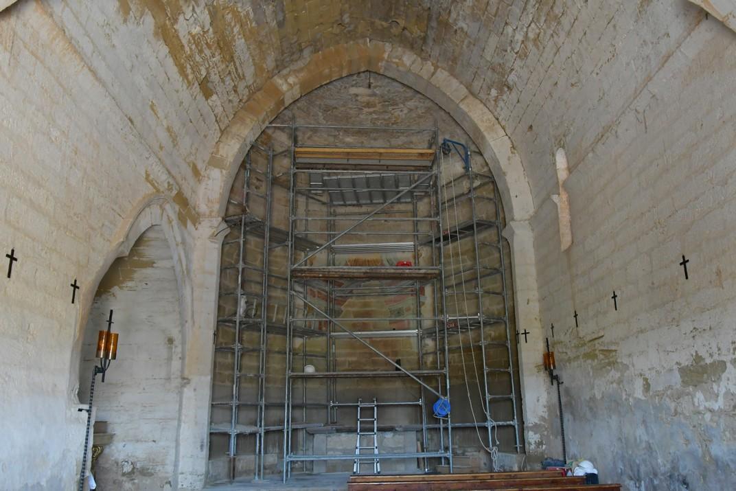 Nau del santuari de Sant Joan de Carratalà d'Aitona