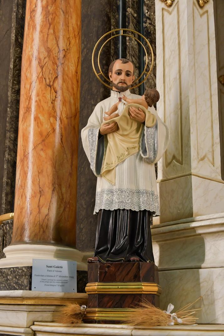 Sant Gaietà de l'església de Sant Antolí Màrtir d'Aitona