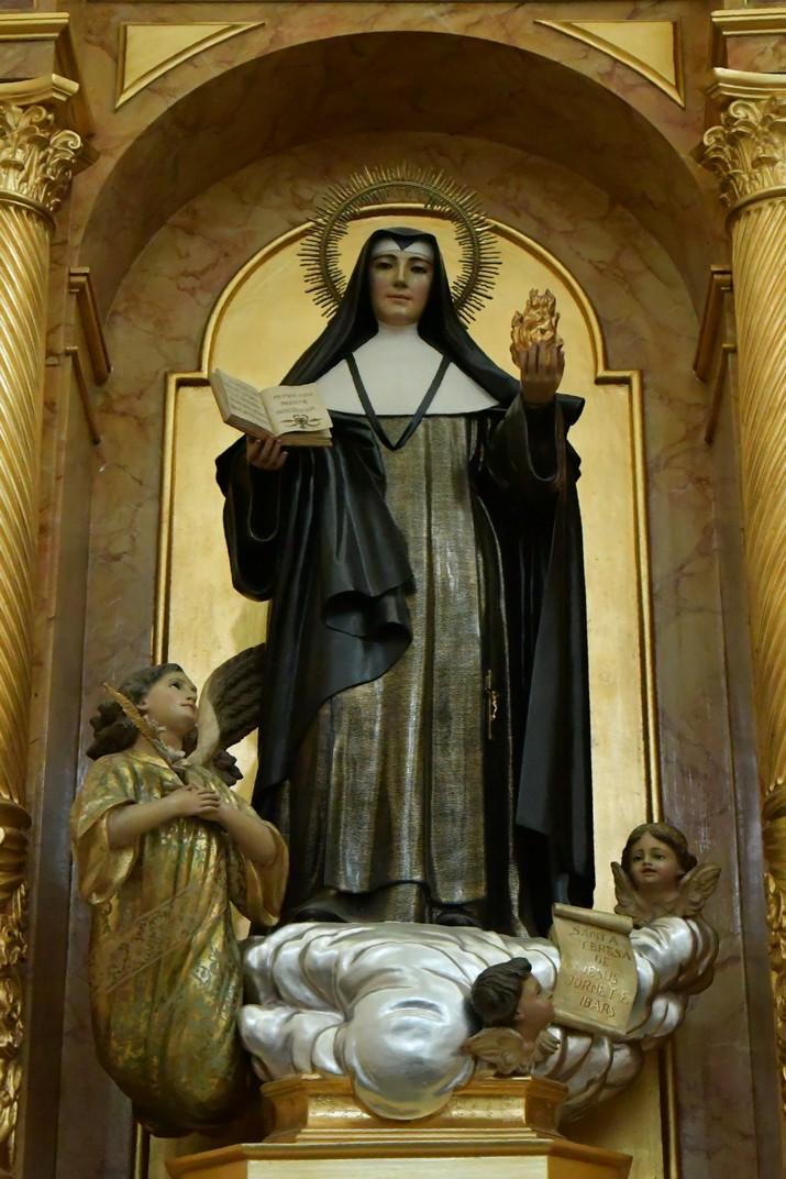 Santa Teresa Jornet de l'església de Sant Antolí Màrtir d'Aitona