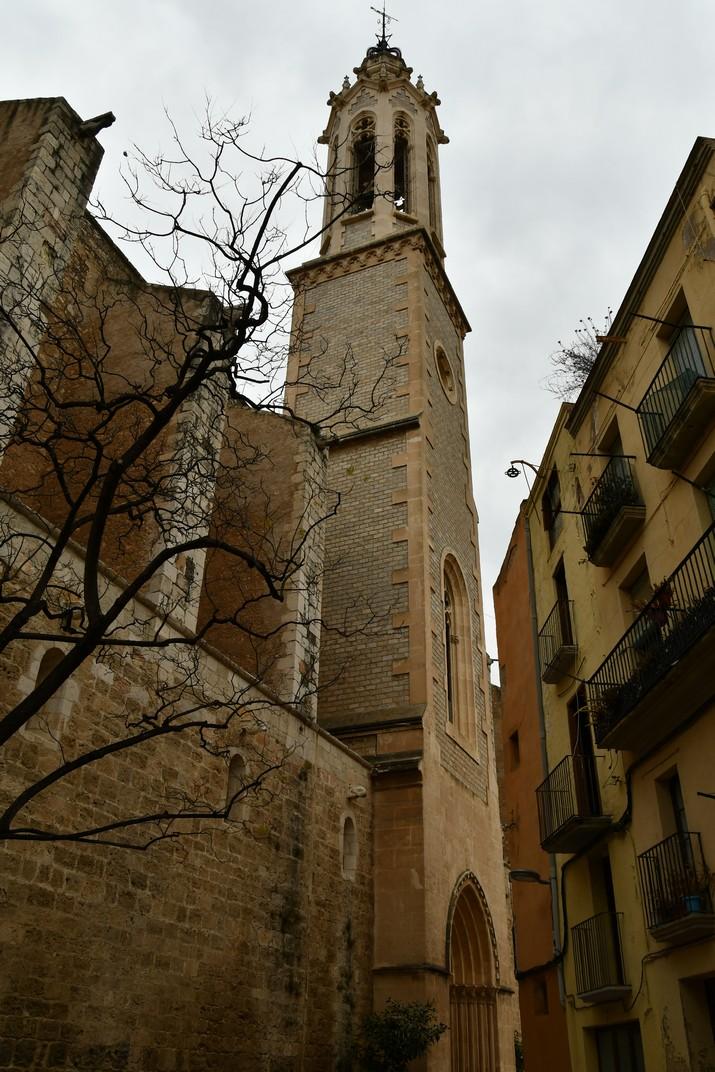 Campanar de l'església de Sant Joan Baptista de Valls