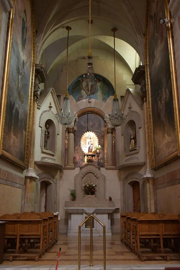 Capella de la Mare de Déu de la Candela de l'església de Sant Joan Baptista de Valls