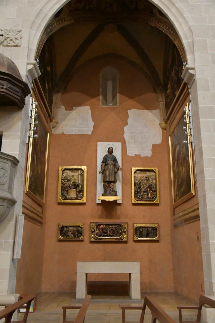 Capella de Sant Isidre de l'església de Sant Joan Baptista de Valls