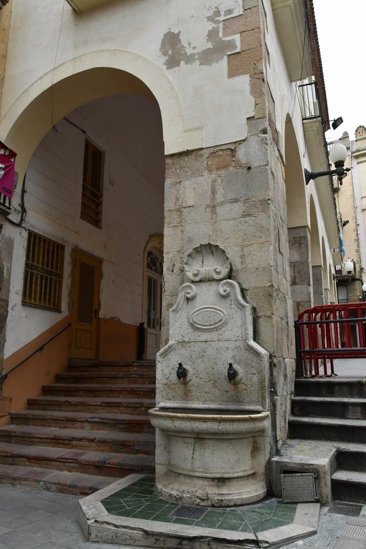 Font de la plaça del Blat de Valls