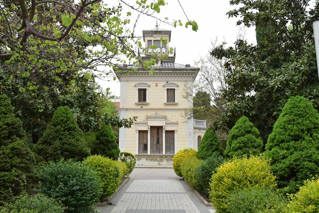 Parc de la casa Barrau de Valls