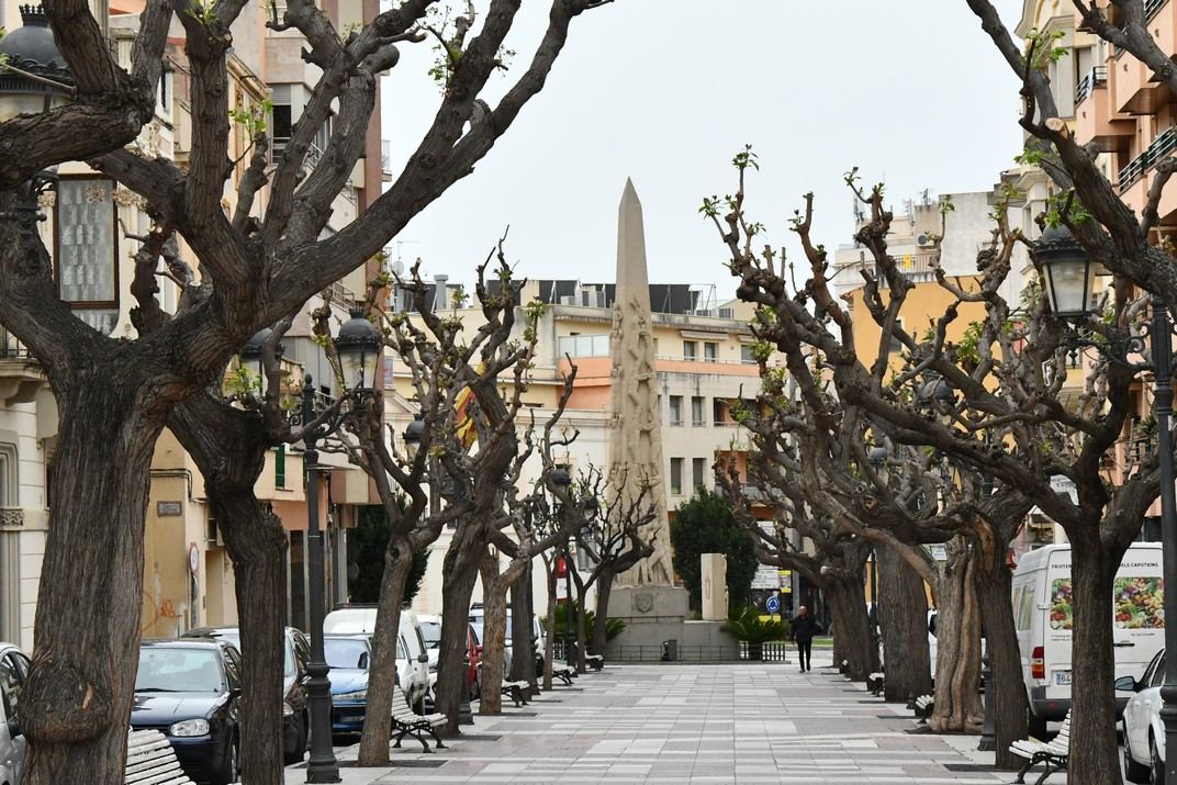 Passeig dels Caputxins de Valls