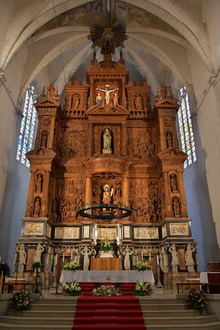 Retaule major de l'església de Sant Joan Baptista de Valls